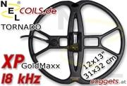 NEL Tornado XP GoldMaxx 18 kHz Suchspule Coil 12x13...