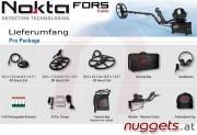 Nokta FORS CoRe Pro Package 3-Spulen Set Metalldetektor