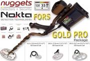 Nokta FORS GOLD Pro Package Metalldetektor Set