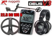 XP DEUS 22 RC WS5 V3 3.2 Premium SET Metalldetektor