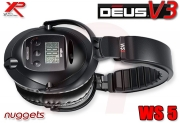 XP DEUS V3 WS5 WS 5 Headphone Kopfhörer Second Hand