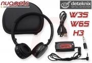 deteknix W3S W6S H3 Funk Kopfhörer wireless Funkkopfhörer