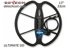 "DETECH ULTIMATE DD 33 cm 13"" FISHER F75 SuchSpule"