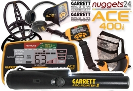 GARRETT ACE 400i ACE400i Pro-Pointer II oder ProPointer AT...