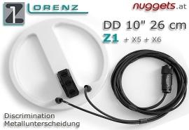 """Lorenz 26 cm 10"""" DD Coil SuchSpule"""