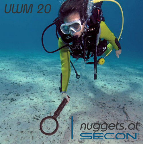 SECON UWM 20 Metalldetektor Dive UW Underwater Unterwasser