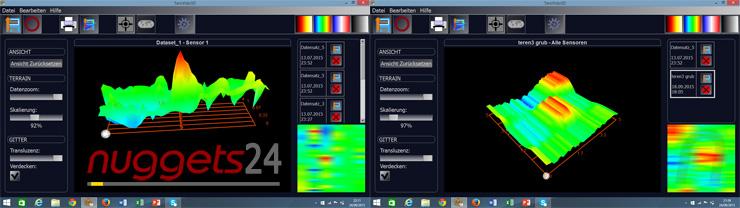 Tero-Vido Tero Vido 3D Metal Detector www.nuggets24.com