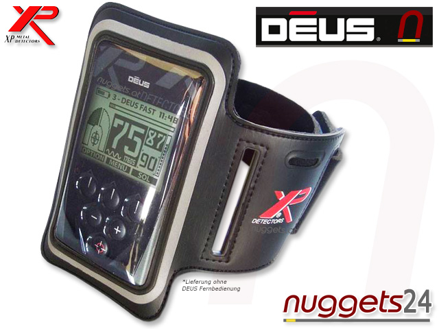 XP DEUS Armband Halter Remote Fernbedienung www.nuggets.at Metalldetektor Online Shop Metal Detector Detektor Detektoren Schatzsuche
