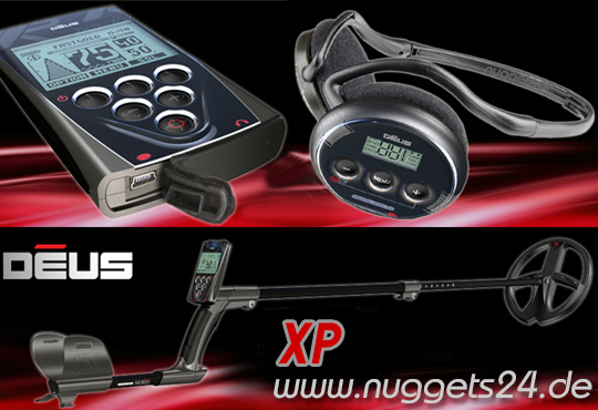 XP DEUS bei www.nuggets.at sofort lieferbar OnlineShop ShowRoom GratisVersand