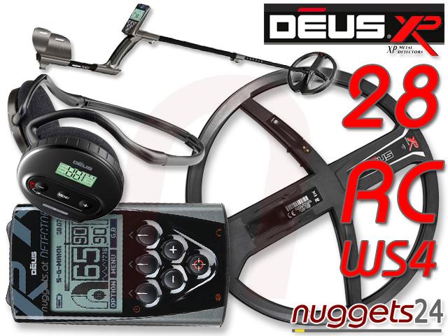 XP DEUS 28 DD RC WS4 V3 3.0 kauft man bei www.nuggets.at auf Lager und sofort lieferbar