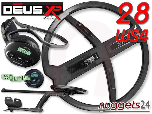 XP DEUS V3 3.2 28 DD WS4 www.nuggets.at Metalldetektoren der Weltmarktführer OnlineShop