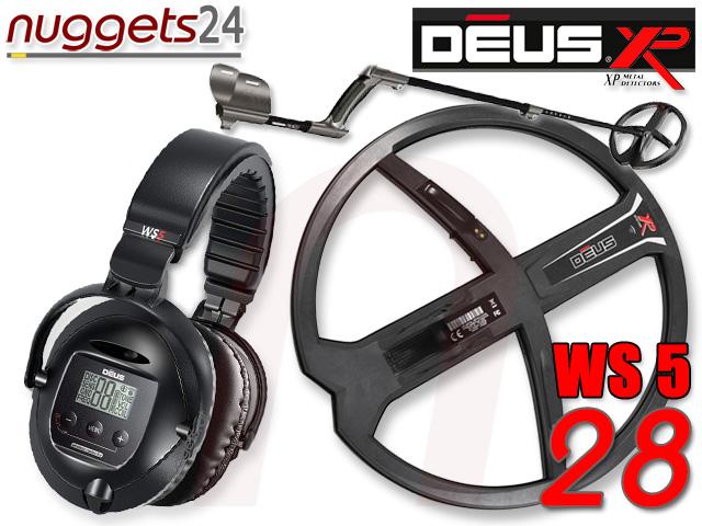 XP DEUS V3 3.2 28 DD WS5 WS 5 www.nuggets24.de Metalldetektoren der Weltmarktführer OnlineShop