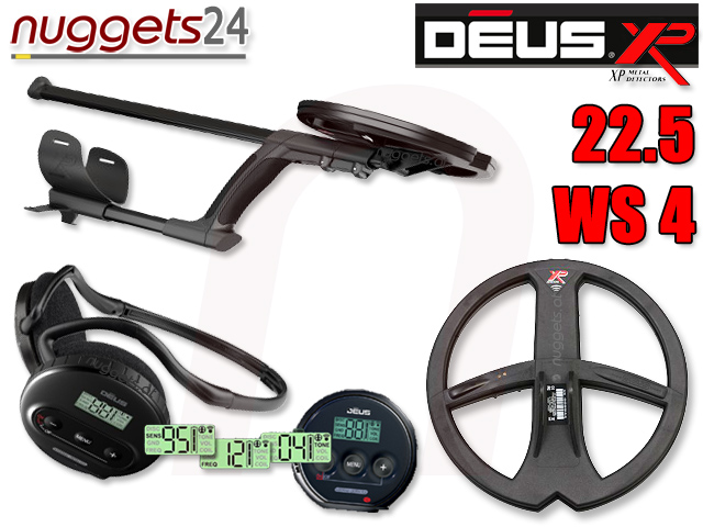 XP DEUS V3 3.0 www.nuggets.at Metalldetektor OnlineShop