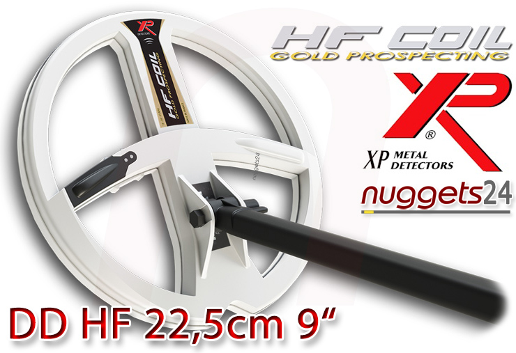 XP DEUS HF High Frequency DD coil Spule 22,5 cm 9