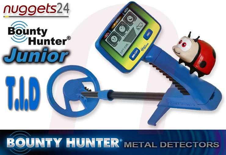 Bounty Hunter Junior T.I.D. TID Metal Detector Metalldetektor für Kinder bei nuggets24com
