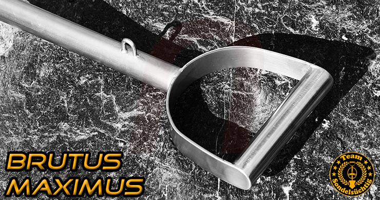 Brutus Maximus Schatzsucher Spaten Schaufel Grabungswerkzeug bei nuggets24.de