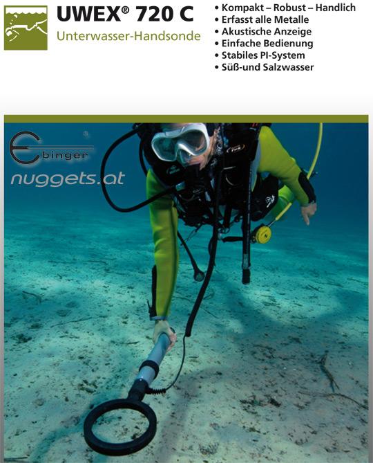 720C Ebinger Detektor sofort lieferbar www.nuggets.at
