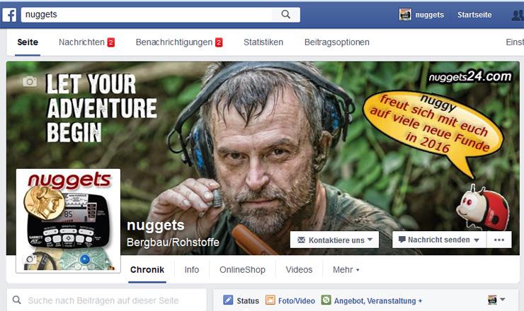 facebook nuggets24 Schatzsucher Neuigkeiten Treasure Hunter News