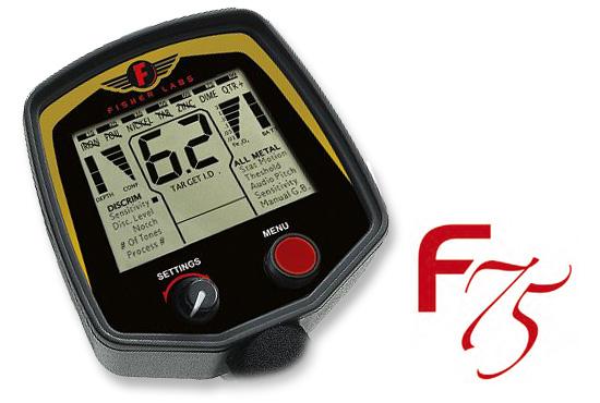 Fisher Fischer F75 F 75 Special Edition 75 Jahre www.nuggets.at OnlineShop Metalldetektor Metaldetctor