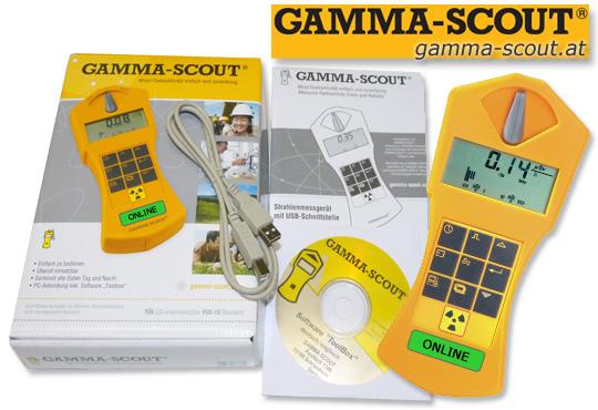 Gamma-Scout Schutzhülle für Geigerzähler