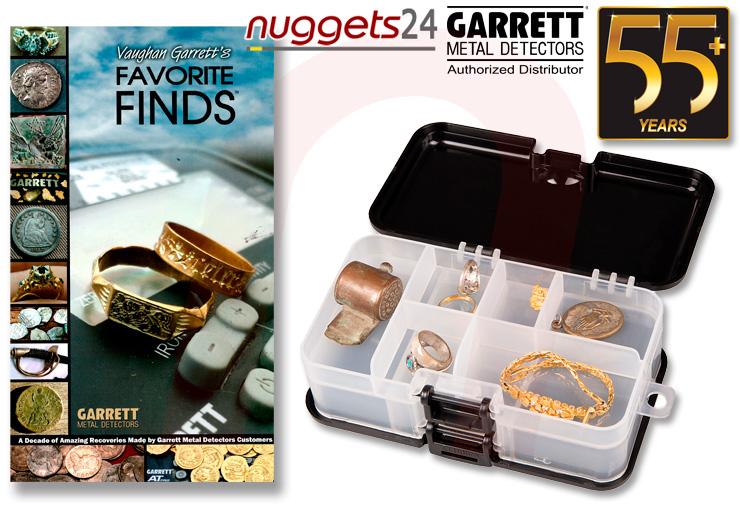 Garrett 55 Jahre Metalldetektor Sonderangebote Specials bei nuggets24 Detektoren Shop