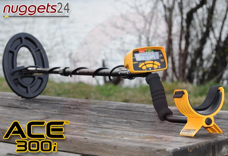 GARRETT ACE 300i 300 i Metalldetektor Online Shop www.nuggets24.de
