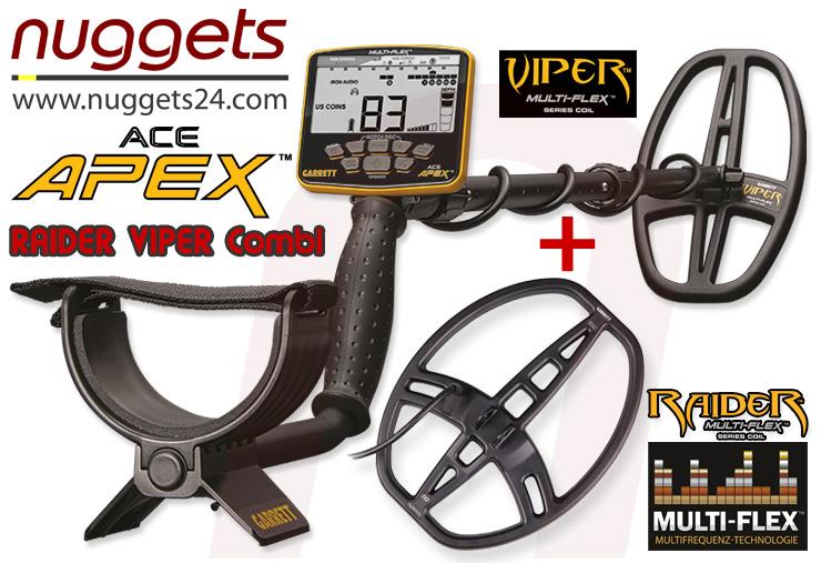nuggets24de GARRETT APEX DUO SET Sonderangebot inklusive Pro-Pointer AT FUNK PinPointer