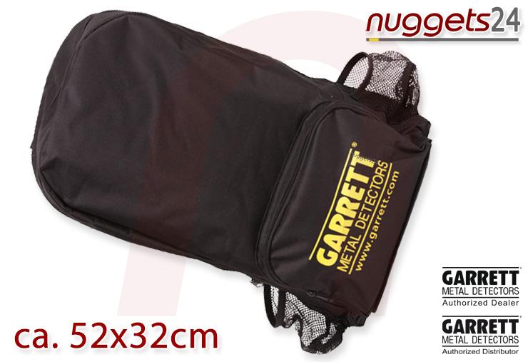 nuggets24 Metalldetektor Rucksack Backpack GARRETT