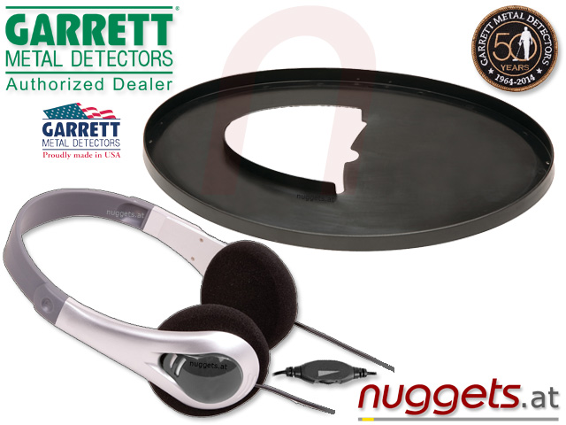 ACE250 Premium Metalldetektor Set bei www.nuggets.at