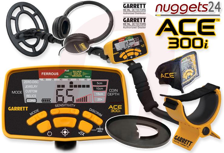 GARRETT ACE 300i bei nuggets24.de im Online Shop immer lagernd und sofort lieferbar