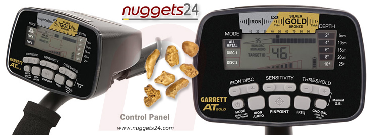 Garrett AT Gold Golddetector DUAL coil package nuggets24com