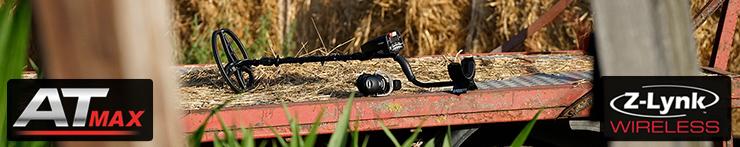 GARRETT AT MAX AT-MAX Metaldetektor im SET Sonderangebot bei nuggets24 lieferbar