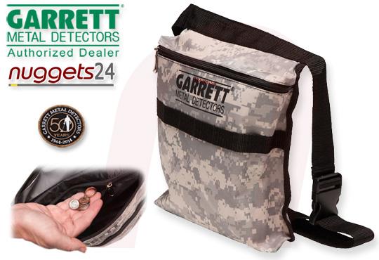 GARRETT Camo Pouch Tasche bei www.nuggets24.de Metalldetektor-Shop