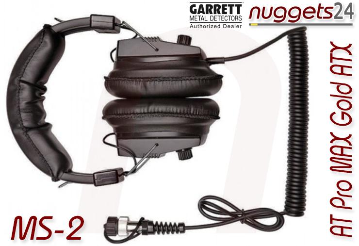 Garrett Kopfhörer für AT Pro AT MAX AT Gold ATX bei nuggets24 Metalldetektor Online Shop