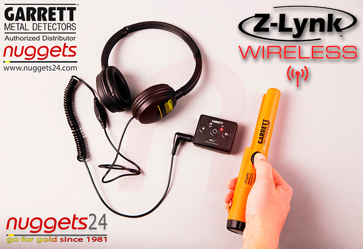 GARRETT Z-LYNK Funk wireless Pro-Pointer Pro Pointer AT All Terrain www.nuggets.at Metalldetektor OnlineShop Metal Detector