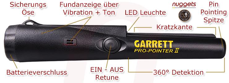 Garrett Pro-Pointer II Pro Pointer 2 nuggets24com