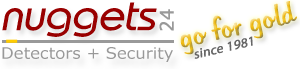 nuggets Detectors + Security GmbH Metalldetektor Schatzsucher Online Shop