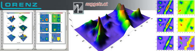 Lorenz Z1 X5 X6 Data Logger 3-D 3D Surfer Software www.nuggets.at www.lorenz-z1.com Online Shop Metal Detector Golddetectors