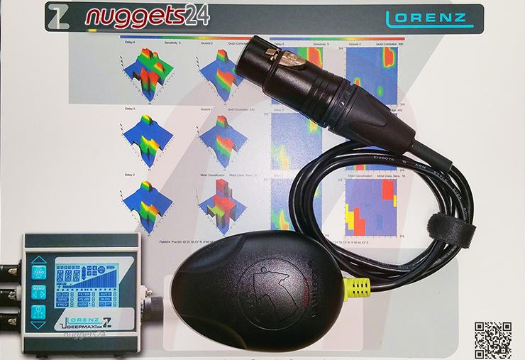LORENZ Data Logger GPS Modul Z1 Metal Detector Metalldetektor PI Golddetector Golddetektor www.nuggets24.de