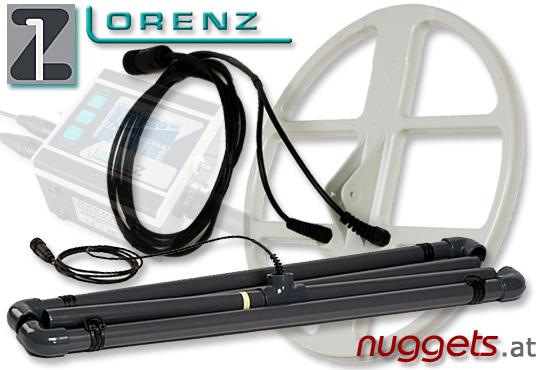 Lorenz Z-1 Z1 Metalldetektor Golddetector Gold Metal Detector Detektor www.nuggets.at