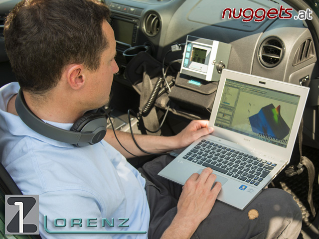 Lorenz 3D GPS Data Logger KIT www.nuggets.at Metal Detector Golddetector Online Shop