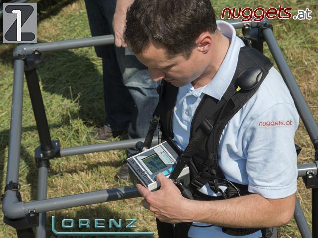 Lorenz Z1 Z-1 Metalldetektor 3D GPS Datalogger für BodenScan www.nuggets.at