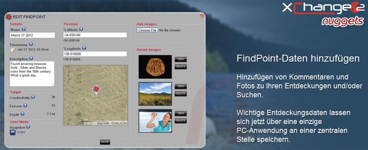 Minelab CTX3030 Metalldetektor immer auf Lager bei www.nuggets.at