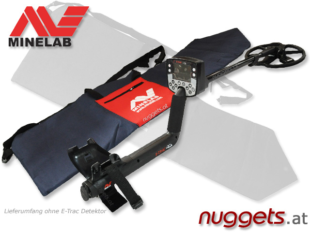 MINELAB Backpack www.nuggets.at Metal Detector OnlineShop Metalldetektoren Metallsuchgeräte