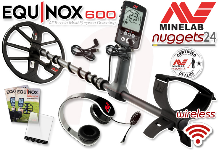 Minelab Equinox 600 800 nuggets24com Metalldetektor Metaldetector Online Shop