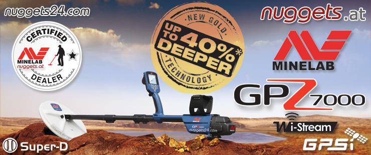 Minelab GPZ7000 Gold Machine Metal Detector www.nuggets24.com