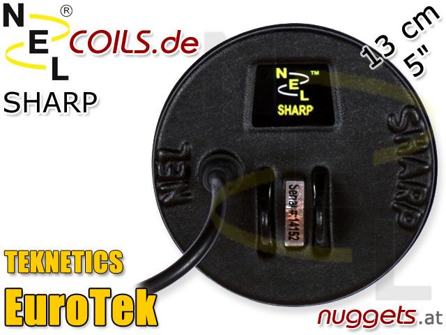 NEL Sharp Suchspule Teknetics Eurotek Coil Coils Sonde Sonden www.nuggets.at