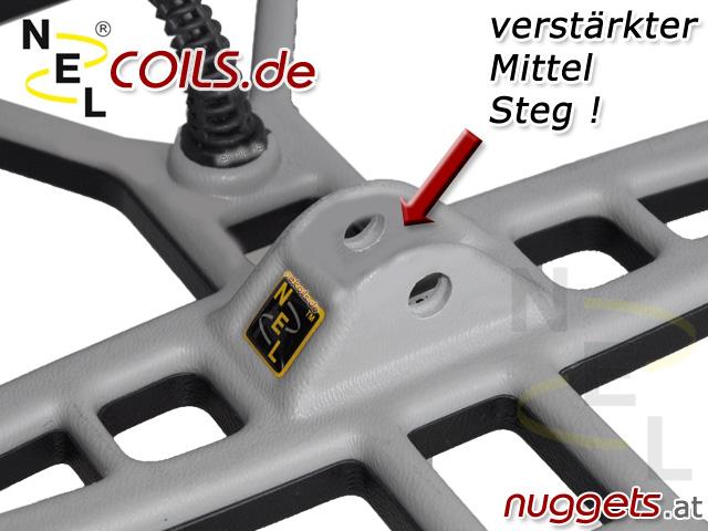 NEL Coil Spule Spulen Sonden Suchspule Suchspulen www.nuggets.at Coils
