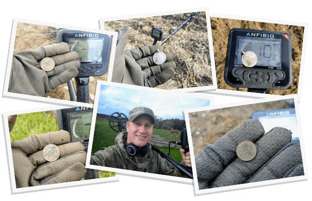 Anfibio Metalldetektor wasserdicht Multifrequenz von Makro Nokta bei nuggets24 Metalldetektoren Online Shop