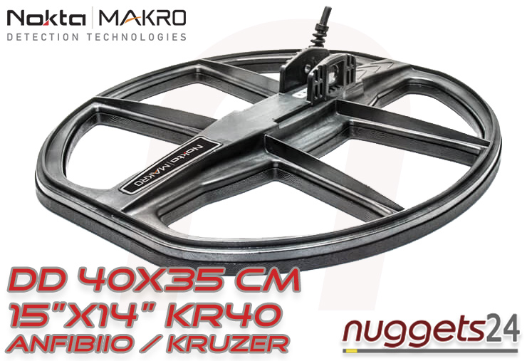 Nokta 40x35cm Tiefensuche Anfibio Kruzer Spule Spulen Sonde Sonden Metalldetektoren Metal Detector Detektoren Detectors www.nuggets24.de